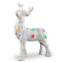 National Tree Company 25-in. Light-Up Reindeer Floor Christmas Decor