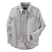 ToddlerBoy OshKosh B'gosh® Striped Button-Up Shirt