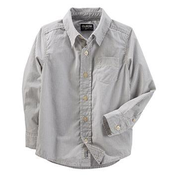 ToddlerBoy OshKosh B'gosh® Striped Button-Up Shirt