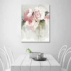 Artissimo Designs Peonies Canvas Wall Art