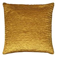 Rizzy Home Solid Gathered Side I Throw Pillow