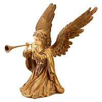National Tree Company 24-in. Angel & Trumpet Floor Decor