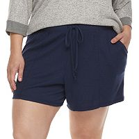 Plus Size SONOMA Goods for Life™ Lounge Shorts