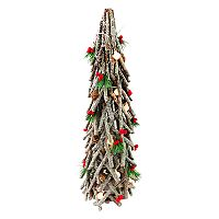 National Tree Company Light-Up Artificial Wood Decor