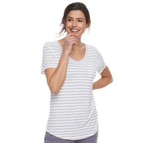 Women's SONOMA Goods for Life? Essential V-Neck Tee