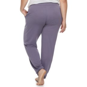 Plus Size SONOMA Goods for Life? Essential Lounge Jogger Pants
