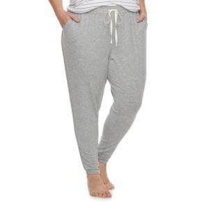 Plus Size SONOMA Goods for Life? Tulip Hem Lounge Pants