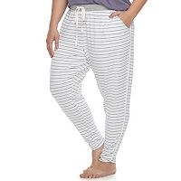 Plus Size SONOMA Goods for Life™ Tulip Hem Lounge Pants