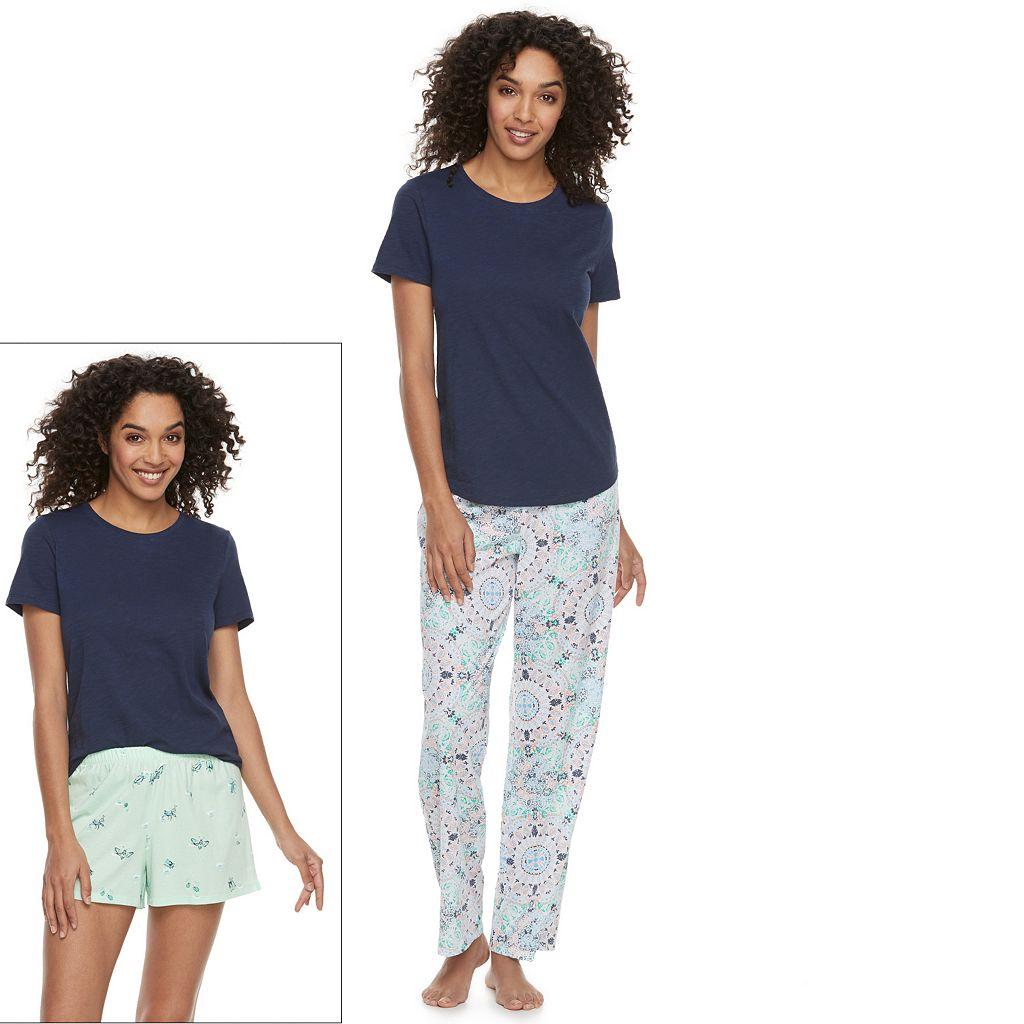 Petite SONOMA Goods for Life™ 3-Piece Pajama Set