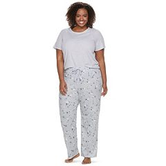Plus Size SONOMA Goods for Life™ 3 pc Pajama Set