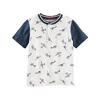 ToddlerBoy OshKosh B'gosh® Airplane Print Henley Top