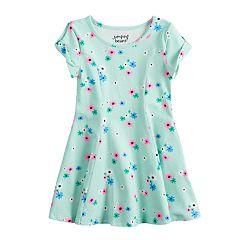 Toddler Girl Jumping Beans® Printed Skater Dress