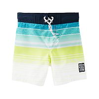 Toddler Boy OshKosh B'gosh® Striped Swim Shorts
