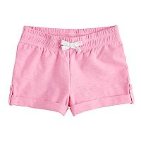 Toddler Girl Jumping Beans® Slubbed Cuffed Shorts