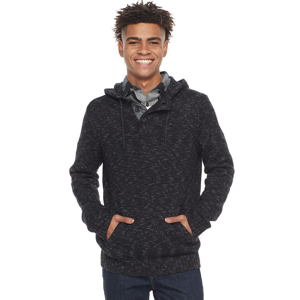 Urban Pipeline® Hooded Henley Sweater