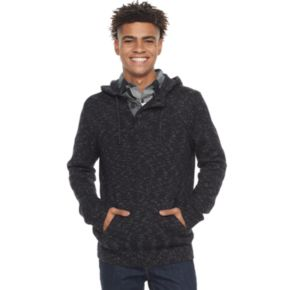 Men's Urban Pipeline® Hooded Henley Sweater