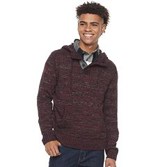 Men's Urban Pipeline® Hooded Henley Sweater