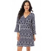 Women's Apt. 9® Printed Wrap  Dress