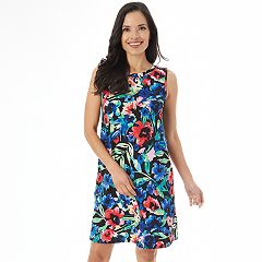 Women's Apt. 9® Printed Swing Dress