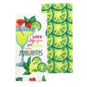 Celebrate Summer Together Margarita Kitchen Towel 2-pack