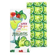 Celebrate Summer Together Margarita Kitchen Towel 2-pack