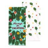 Celebrate Summer Together Vacation Kitchen Towel 2-pack