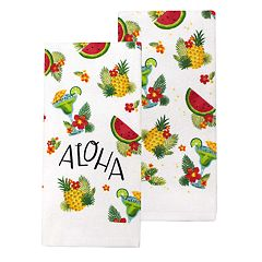 Celebrate Summer Together Aloha Kitchen Towel 2-pack
