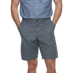Men's Marc Anthony Textured Slim-Fit Yarn-Dyed Shorts