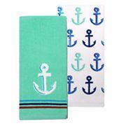 Celebrate Summer Together Anchor Kitchen Towel 2-pk.