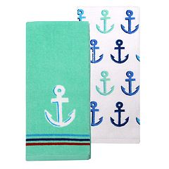 Celebrate Summer Together Anchor Kitchen Towel 2-pk.