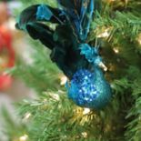 Northlight Peacock Clip-On Christmas Ornament