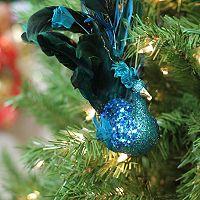 Northlight Peacock Clip-On Christmas Ornament