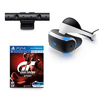 PlayStation Virtual Reality VR Headset with Gran Turismo Sport Bundle + $40 Kohls Cash + Simple Pleasures Berry Frost Mini Lotion