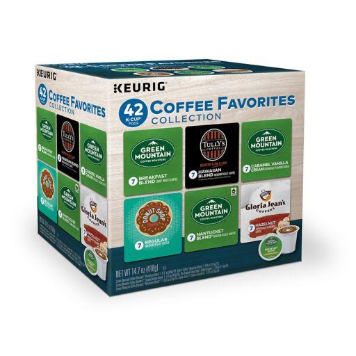 Keurig® K-Cup® Pod Coffee Favorites Collection - 42-pk.