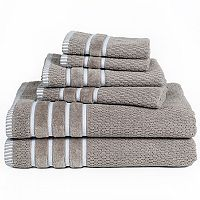 Portsmouth Home Rice Weave 6-piece Bath Towel Set
