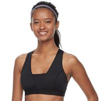 FILA SPORT® Bras: Crisscross Back High-Impact Sports Bra