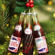 Northlight Pepsi-Cola Bottles Christmas Ornament