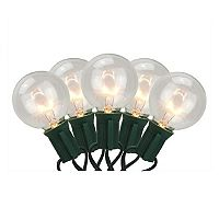 20 Warm White Globe Indoor / Outdoor Christmas Lights