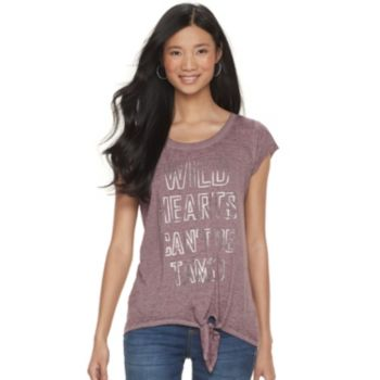 "Women's Rock & Republic® ""Wild Hearts Can't Be Tamed"" Graphic Tee"
