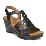 NaturalSoul by naturalizer Rynda Women's Wedge Sandals