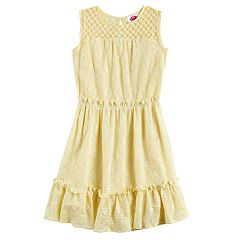Disney D-Signed Girls 7-16 Crochet Dress