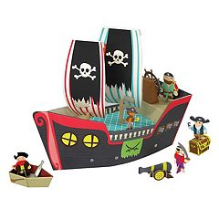 Krooom Pirate Ship Playset