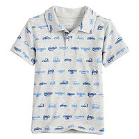 Toddler Boy Jumping Beans® Patterned Polo
