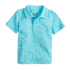 Baby Boy Jumping Beans® Patterned Polo