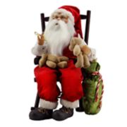 Northlight 14.75-in. Animated Santa Christmas Decor