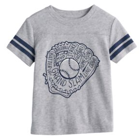 Toddler Boy Jumping Beans® Baseball Glove Graphic Tee