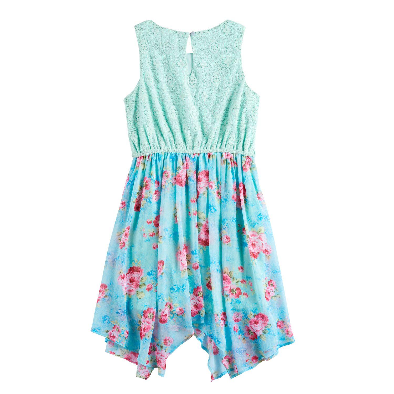 Girls Green Dressy Kids Dresses, Clothing | Kohl\'s