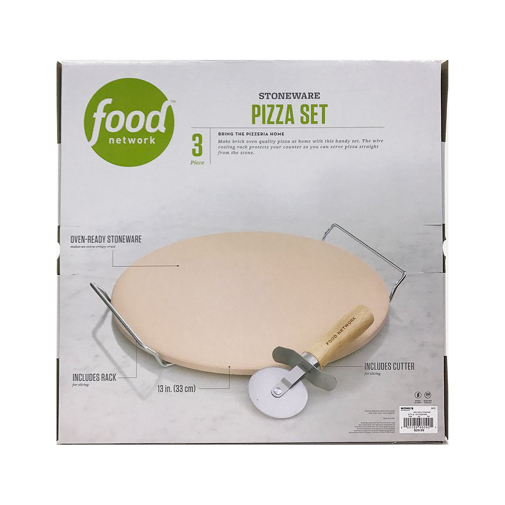 Food Network™ 3-pc. Pizza Stone Set