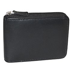 Buxton Emblem Zip-Around Billfold