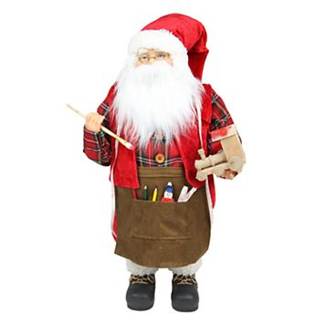 Northlight 24-in. Animated Santa & Toy Train Christmas Decor